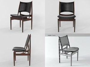 3D model egyptian chair