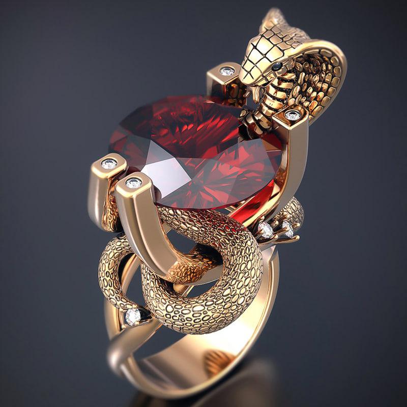 cobra ring 3D