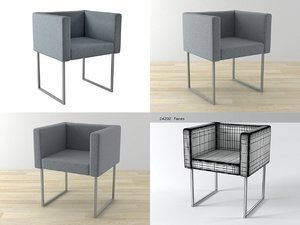 cubica zanotta 3D model