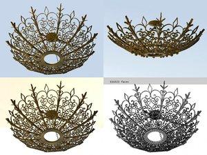 metal sunburst n model