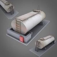 tank depot industrial 3D