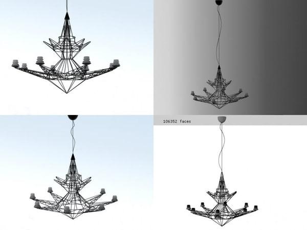 lightweight foscarini 3D model