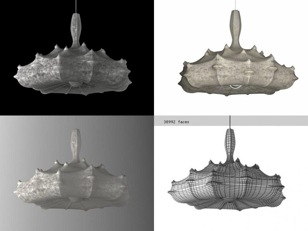 zeppelin flos 3D