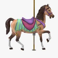 carousel horse v11 model
