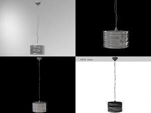 3D model aqua cil suspension lamp