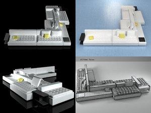 domino 15 3D model