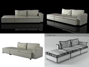 seven sofa 03 3D model