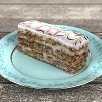 Realistic Walnut Cake 3D Model