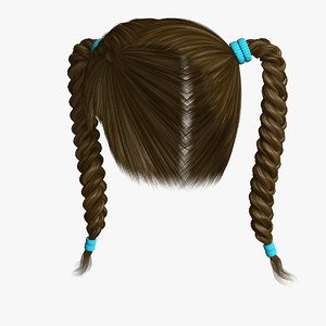 hairstyle 6 hair model