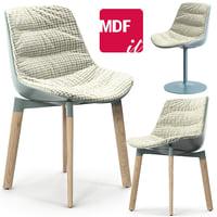 3D model mdf italia flow color