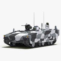 CV90 Armadillo (White Camo)