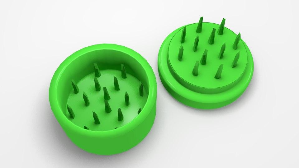 3D gas grinder