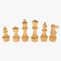 chess king model