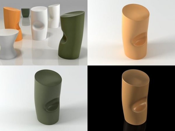 3D tokyo pop model
