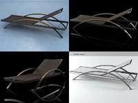 alusion lounge alu 195 3D model