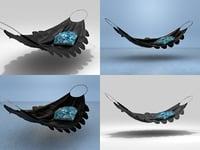 hammock moroso 3D