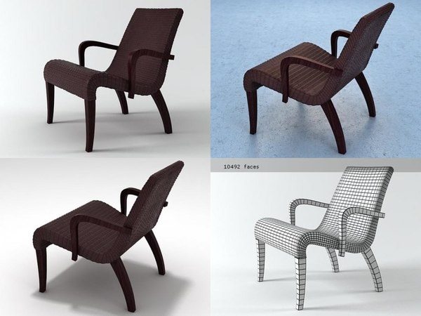 3D lazy marco lounge chair