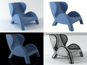 3D entertainment model