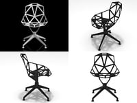 chair 4star 3D