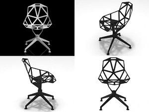 chair 4star 3D
