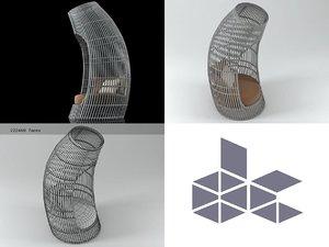 lolah capsule 3D model