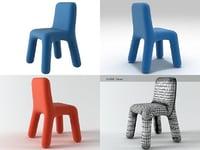 anyo chair 3D model