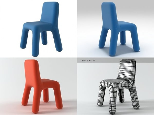 anyo chair 3D model