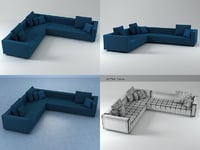3D kilt 03 model