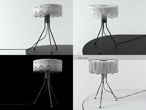 3D grace table lamp model