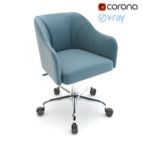 Althea Adjustable Mid-Back Office Chair