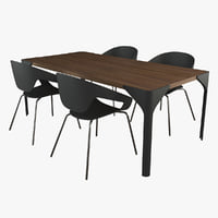 Canard Table Vad Chair