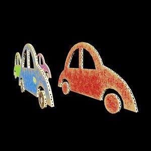 car craft 3D model