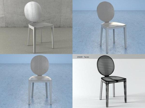 3D kong chair model