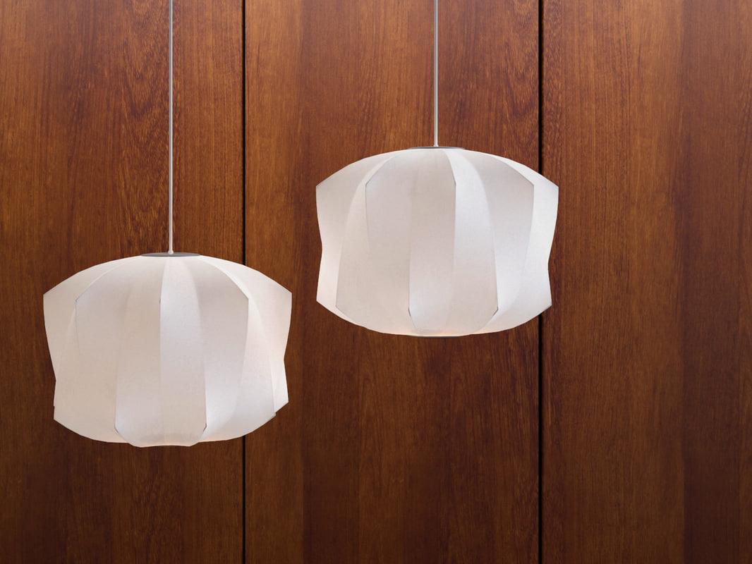 3D model nelson bubble lamp -