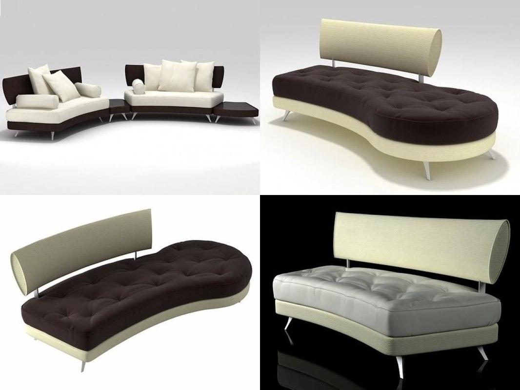 3D mutabilis sofa
