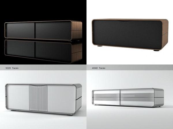 cemia tv units 3D model