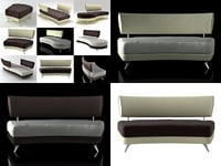 3D mutabilis sofa smooth