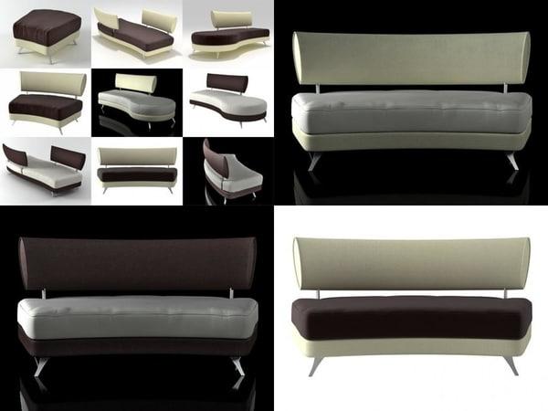 3D mutabilis sofa smooth