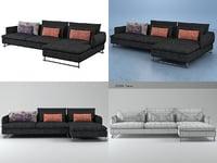 3D shanghai tip sofa