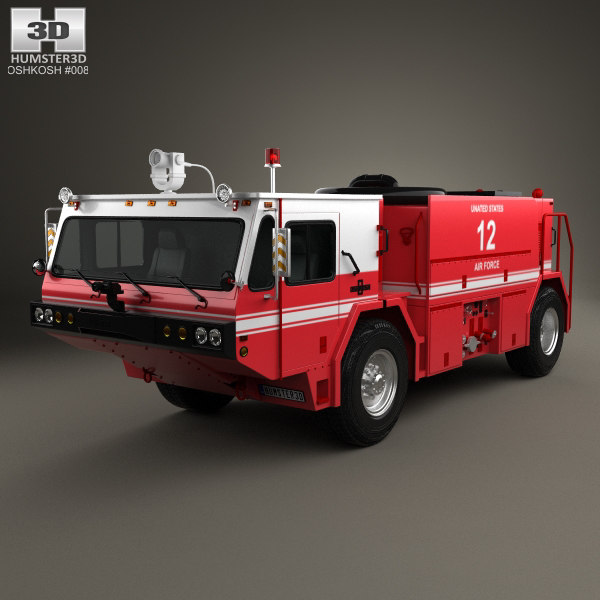3D oshkosh p19 p model