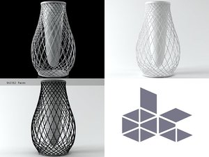 heaven vase 498 3D model