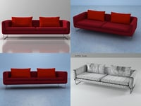 3D avalon sofa model