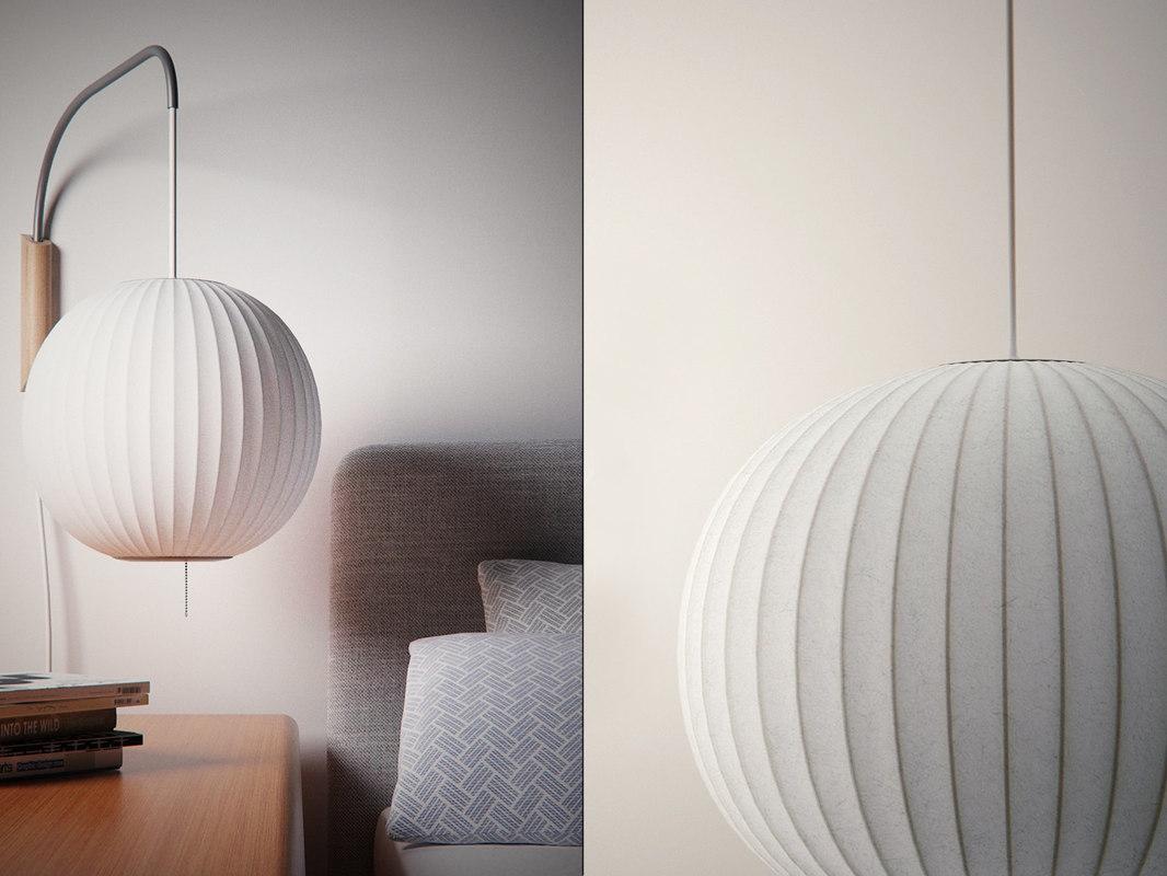 nelson bubble lamp - model