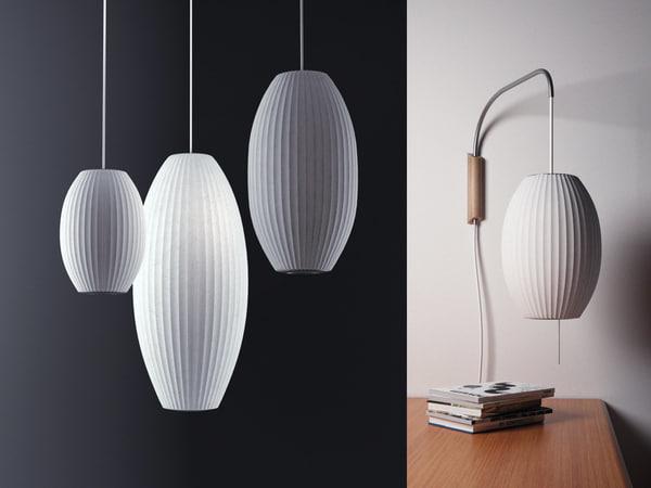 nelson bubble lamp - 3D model