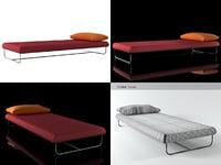 3D avalon bed model