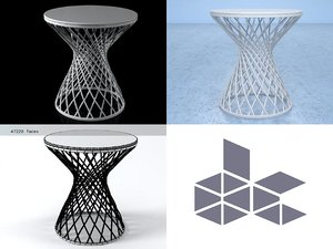 3D heaven occasional table 495s