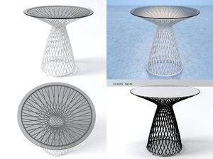 3D heaven dining table 493 model