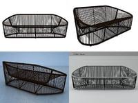 club sofa 1009 3D model