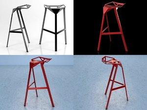 3D stool magis model