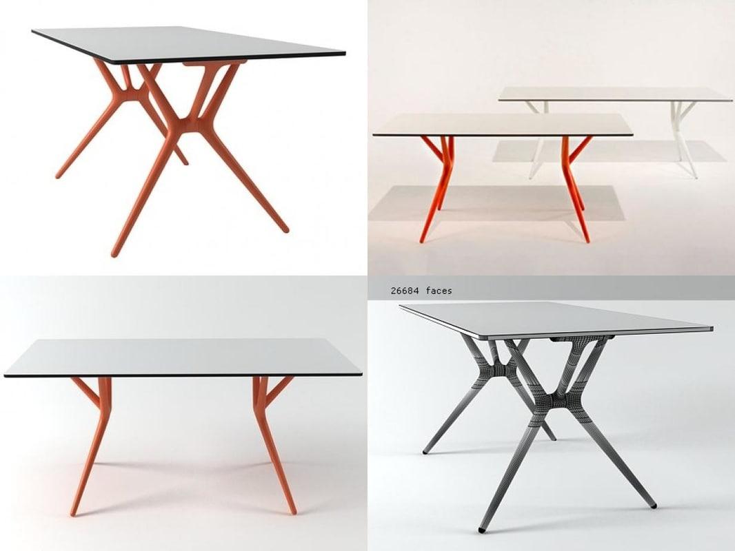 Spoon Table 3d Model Turbosquid 1183571